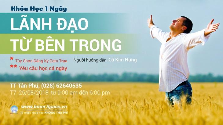 LÃNH ĐẠO TỪ BÊN TRONG (HỌC CẢ NGÀY) @ Inner Space Tân Phú