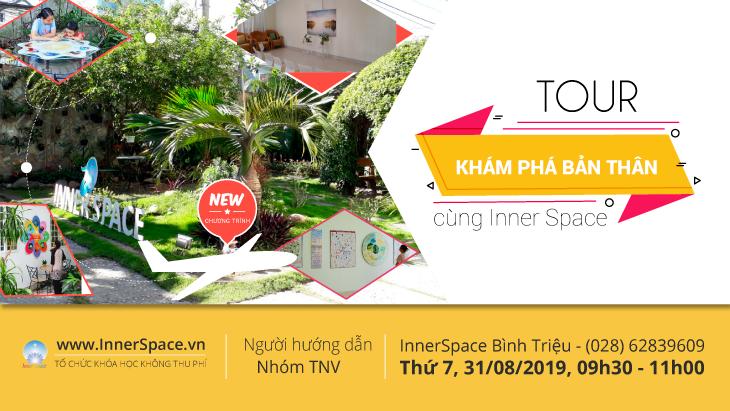 Tour KHÁM PHÁ BẢN THÂN cùng InnerSpace @ Innerspace Bình Triệu